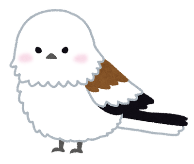 【画像】シマエナガの羽を広げた姿が超絶可愛いんだがwwww