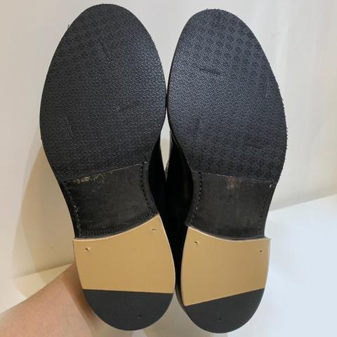 リーガル 靴修理 かかと修理 ハーフソール1