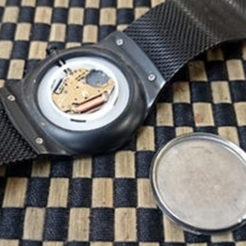 SKAGENスカーゲンの腕時計の電池交換1-1