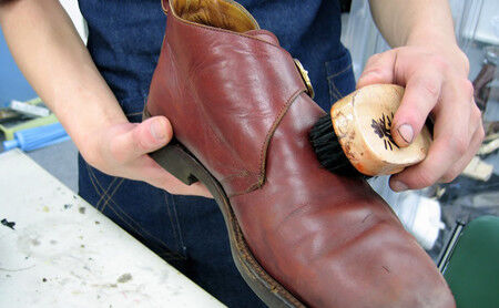 靴修理の作業工程3