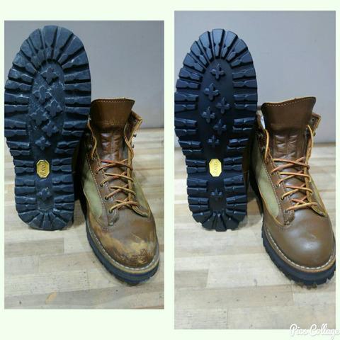 靴ブーツスニーカークリーニング③