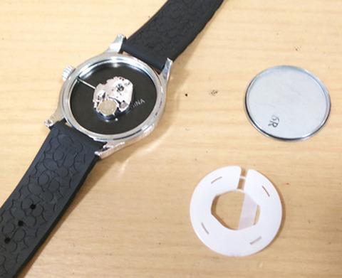 COACHコーチの腕時計の電池交換1