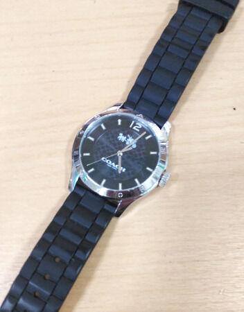 COACHコーチの腕時計の電池交換