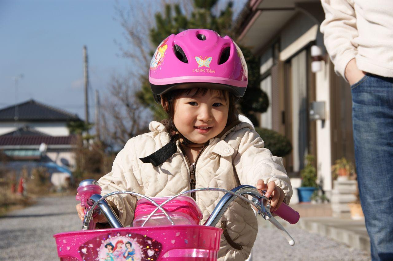 プリンセスの自転車