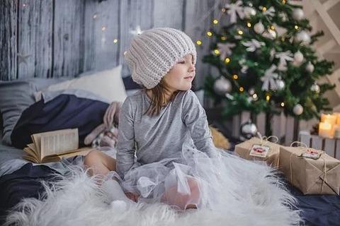 クリスマス女の子
