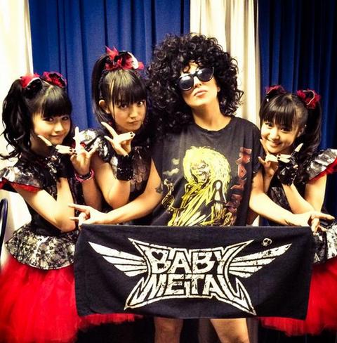 babymetal-ladygaga1