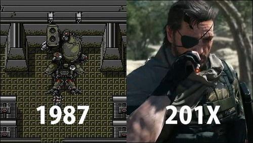 ゲームのグラフィックの進化が分かる画像