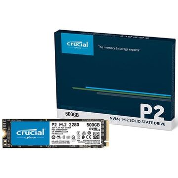【再掲】【12時】Crucial P2 500GB 3D NAND NVMe PCIe M.2 SSD CT500P2SSD8JP 実質4,100円送料無料!