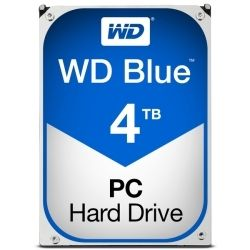 【3/25まで】WESTERN DIGITAL WD Blue 3.5インチ内蔵HDD 4TB WD40EZRZ-RT2 5,780円送料無料から!
