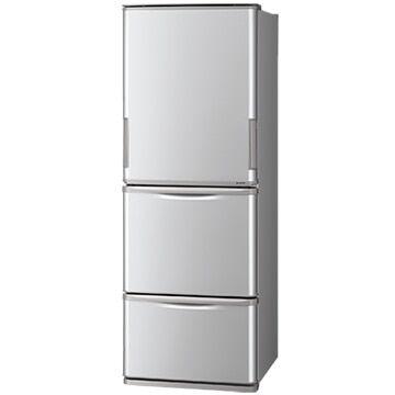 SHARP どっちもドア 350L 3ドア冷蔵庫 SJ-W352E 実質35,342円