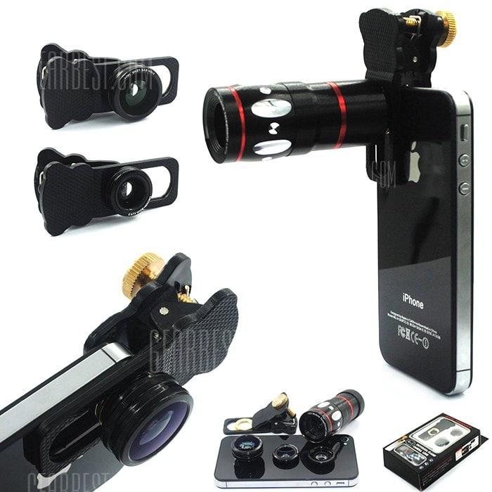 4 in 1 Phone Camera Kit  458円!