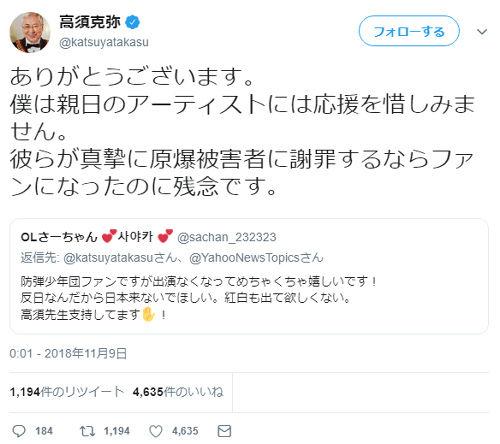 高須院長のTwitter