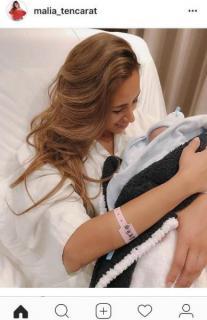 モデルMALIA.第4子男児出産を報告 昨年4度目の結婚