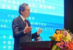 鳩山由紀夫元首相が中国で安倍首相を批判