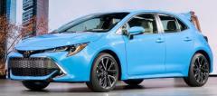 日本車名はカローラスポーツ、2018年6月26日正式発表