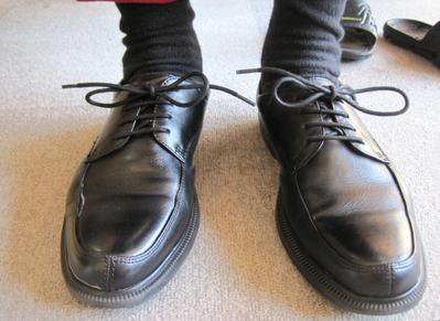 履かれていた靴