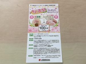 ライフ首都圏×三幸製菓 桜満開プレゼント