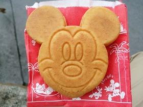 ミッキーカステラケーキ(キャラメルクリーム)