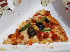 スパイシー和風チキンと長ねぎのピザ(やきとり風味)2