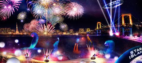 世界初の未来型花火エンターテインメントがお台場で5/27(土)に開催!