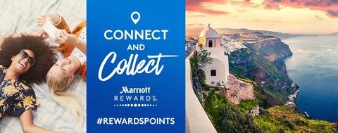 マリオットホテル ソーシャルメディアとコネクト&フォローでボーナスポイントが!
