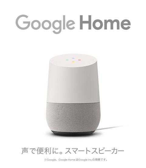 Google Home スマートスピーカー 楽天でお買い物すると30%ポイントバックキャンペーン中!