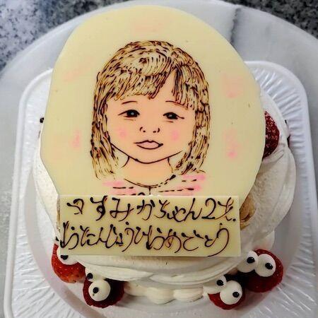 すみかちゃん2歳お誕生日