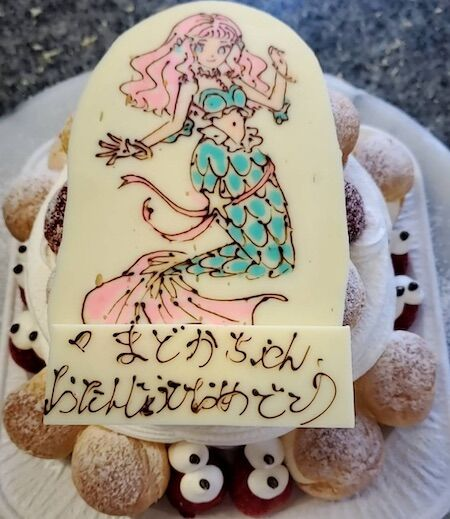まどかちゃんお誕生日人魚姫