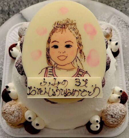 ふみのちゃん3歳のお誕生日おめでとう