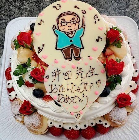 井田先生お誕生日