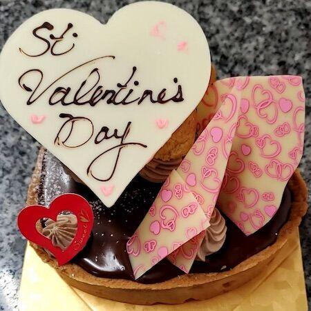 バレンタインチョコタルト小