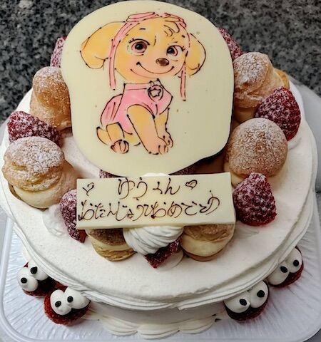 ゆうくんお誕生日(犬キャラ)