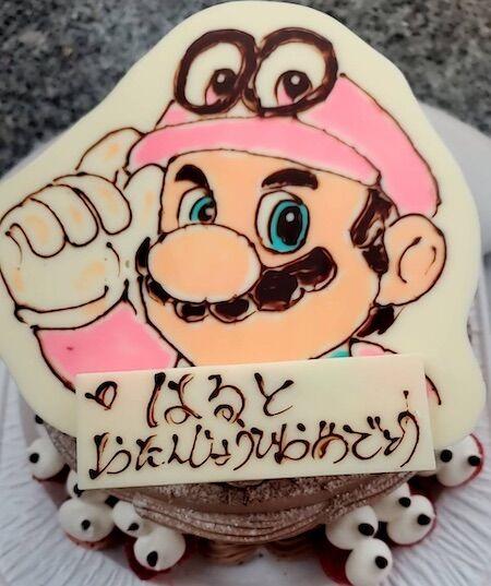 はるとお誕生日(マリオ)