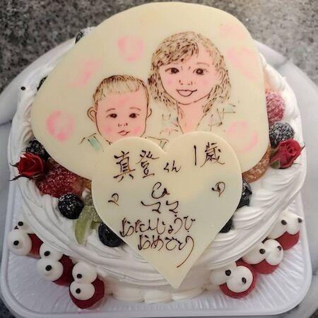 真登くん1歳&ママお誕生日