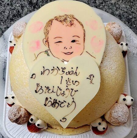 わかちゃん1歳お誕生日