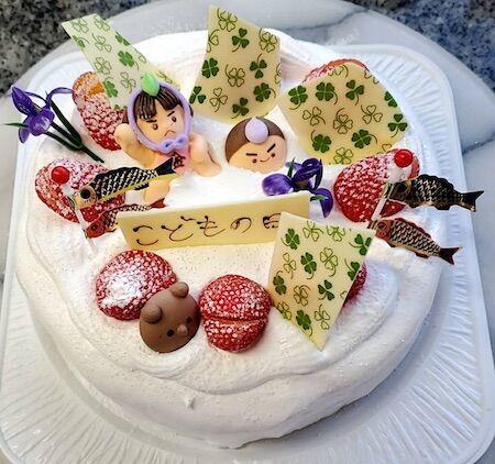 子供の日ケーキ01