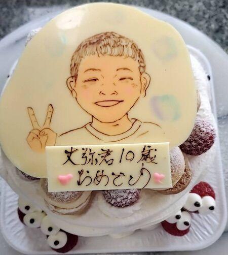 丈弥君10歳お誕生日