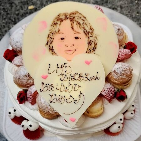 しげこおばあちゃんお誕生日
