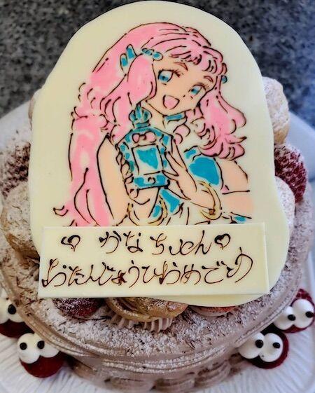 かなちゃんお誕生日(キャラ)