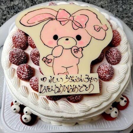 れいらちゃん3歳お誕生日