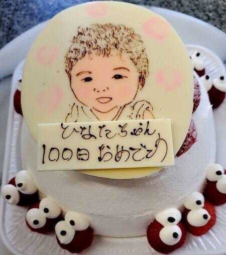 ひなたちゃん100日