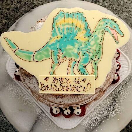 あきとくんお誕生日 恐竜