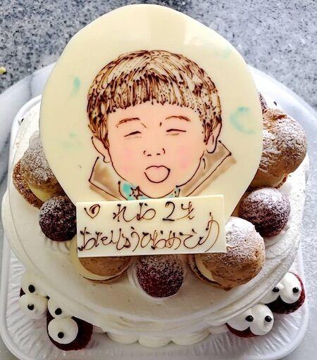 れおちゃん2歳の誕生日おめでとう