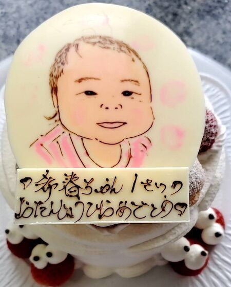 希春ちゃん1歳のお誕生日おめでとう