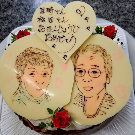 目時さん松田さんお誕生日