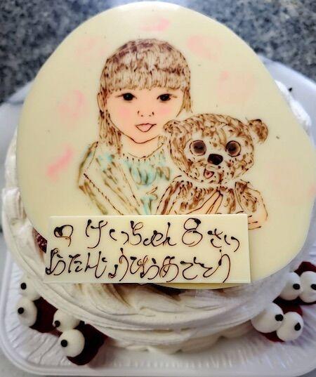 けいちゃん8歳お誕生日