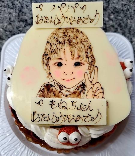 もねちゃん&パパお誕生日