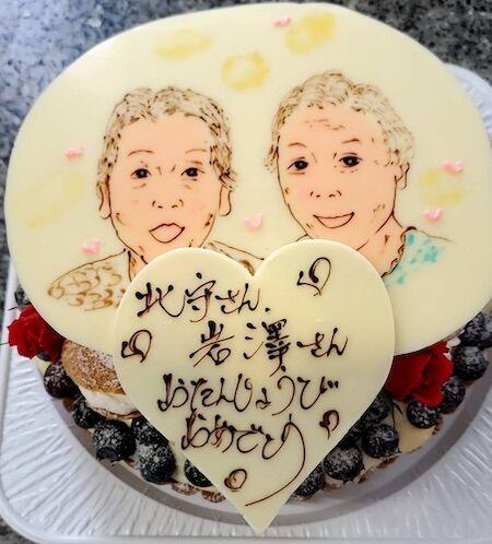 北守さん岩澤さんお誕生日