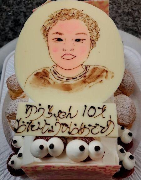 ゆうちゃん10歳お誕生日