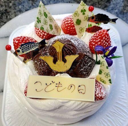 子供の日ケーキ02